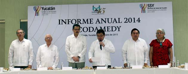 … El Consejo de la Comisión de Arbitraje Médico del Estado de Yucatán (CODAMEDY) llevó a cabo su Cuadragésima Quinta Sesión Ordinaria, en la que fue presentado el Informe Anual […]